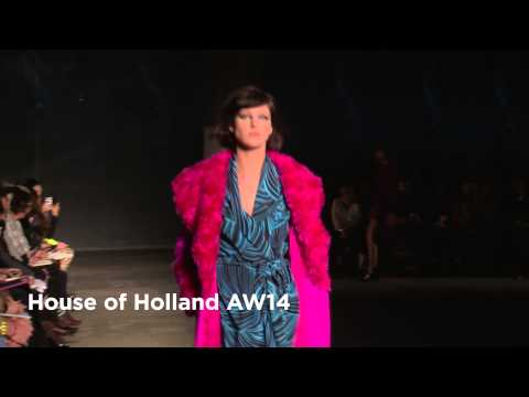 House of Holland London Fashion Week show: House of Holland AW14 Collection