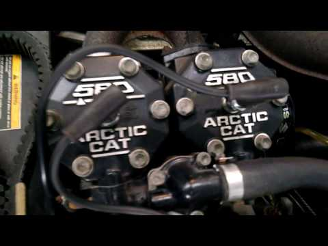 Arctic Cat Ext  No Spark