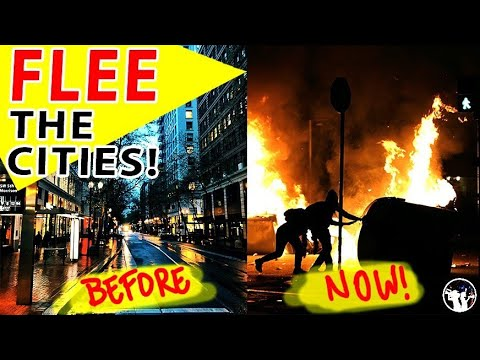 Portland Is Going CRAZY!! Why People Need To Flee Big Cities