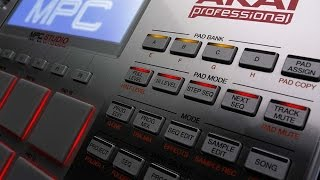 making a sample beat on the mpc studio
