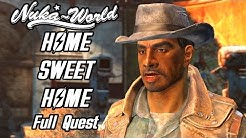 Fallout 4 Nuka World - Home Sweet Home Quest - Taking Over Settlements - Convincing and Killing