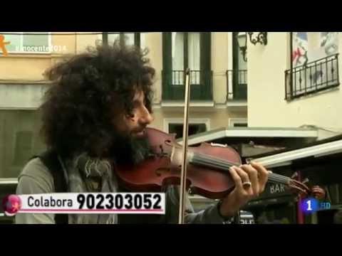 Ara Malikian Tocando En La Calle - Madrid