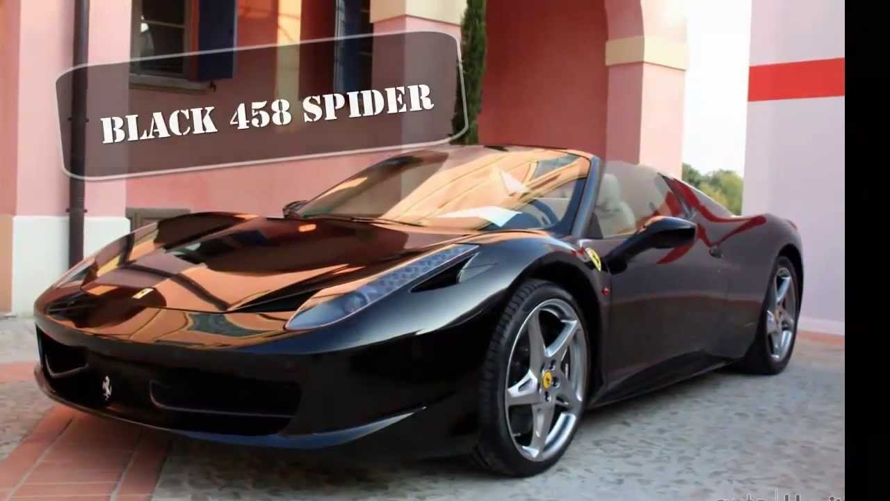 ferrari 458 spider black 2013. ferrari 458 spider black 2013