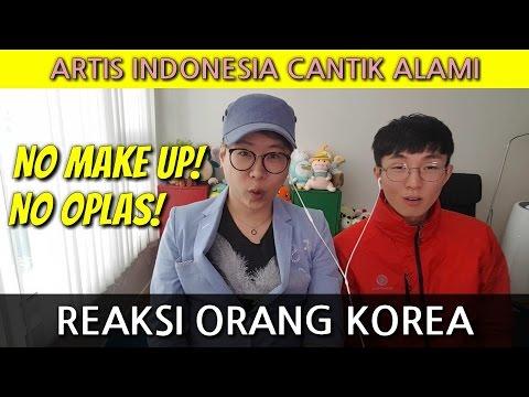 Orang Korea Kaget Dengan Wajah Artis Indonesia Alami
