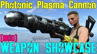 Fallout 4: Weapon Showcases: Photonic Plasma Cannon (Mod)
