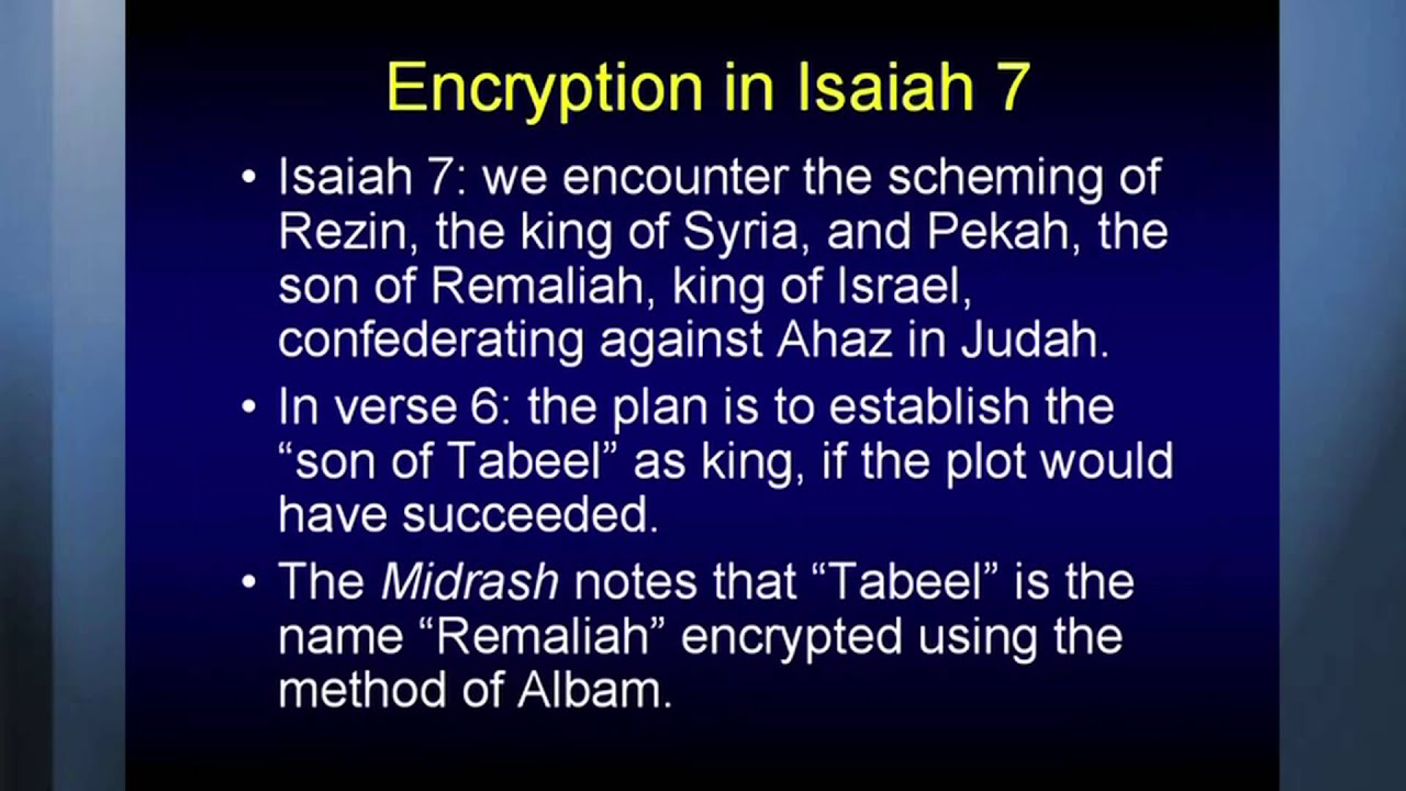 isaiah 7 14 commentary