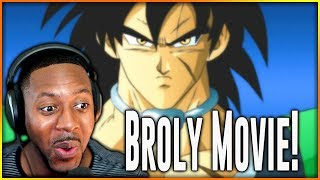 Dragon Ball Super New Broly Movie Reaction ∙ Post Tournament Of Power!