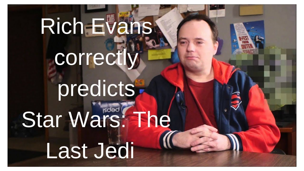 Rian Johnson Red Letter Media.Rich Evans Correctly Predicted Star Wars The Last Jedi November 4th 2015