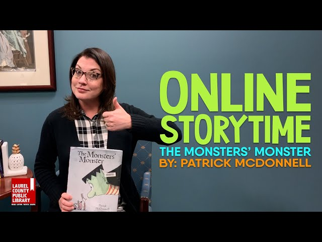 Online Storytime: The Monsters' Monster by Patrick McDonnell