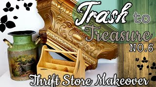 TRASH TO TREASURE DIY No. 6 | THRIFT STORE MAKEOVER 2019