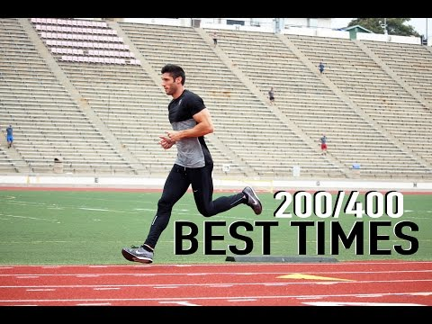How To Calculate Your Best 200m And 400m Times