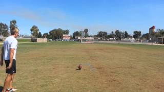 Video High School Kicker/Punter Before & After Private Lessons download MP3, 3GP, MP4, WEBM, AVI, FLV September 2017