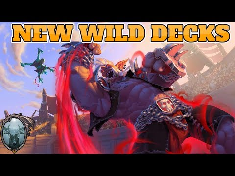 Wild decks for Rastakhan's Rumble | Wild Aggro Giant Paladin | Wild Discard Warlock | Wild GonkDruid