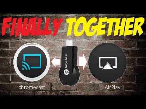 AIRPLAY + CHROMECAST IN ONE? ANYCAST M2 REVIEW/TEST!