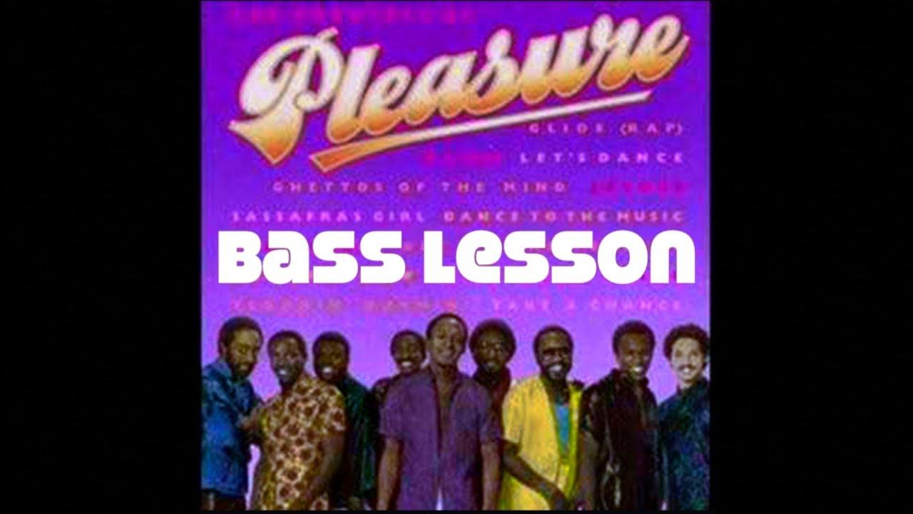 Glide by pleasure bass tabs
