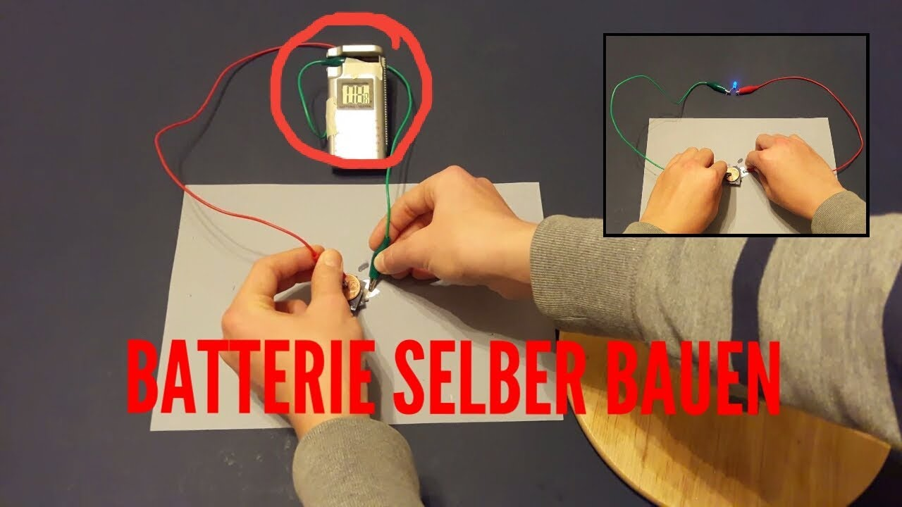 batterie selber bauen funhacks tv youtube. Black Bedroom Furniture Sets. Home Design Ideas