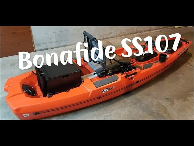 On the water with the Bonafide SS107