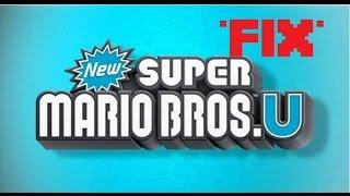 New Super Mario Bros Wii U (Cemu) stopped working*fix*