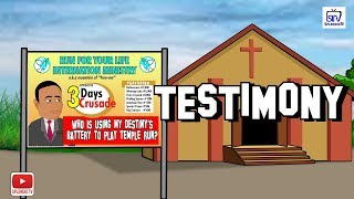 TESTIMONY, COMEDY CARTOON