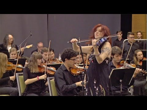 Deni Bonet - Frankenstein - Edgar Winter Cover - Live with the Baylor Symphony