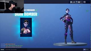 FaZe Cizzorz Reacts To The New Thicc Dark Bomber Skin In Fortnite!