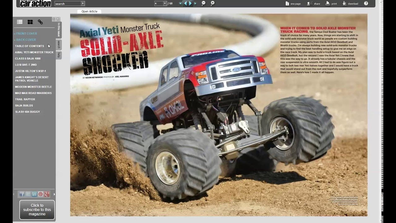 Rc Car Action >> Rc Car Action Custom Projects E Book Download Yours Youtube