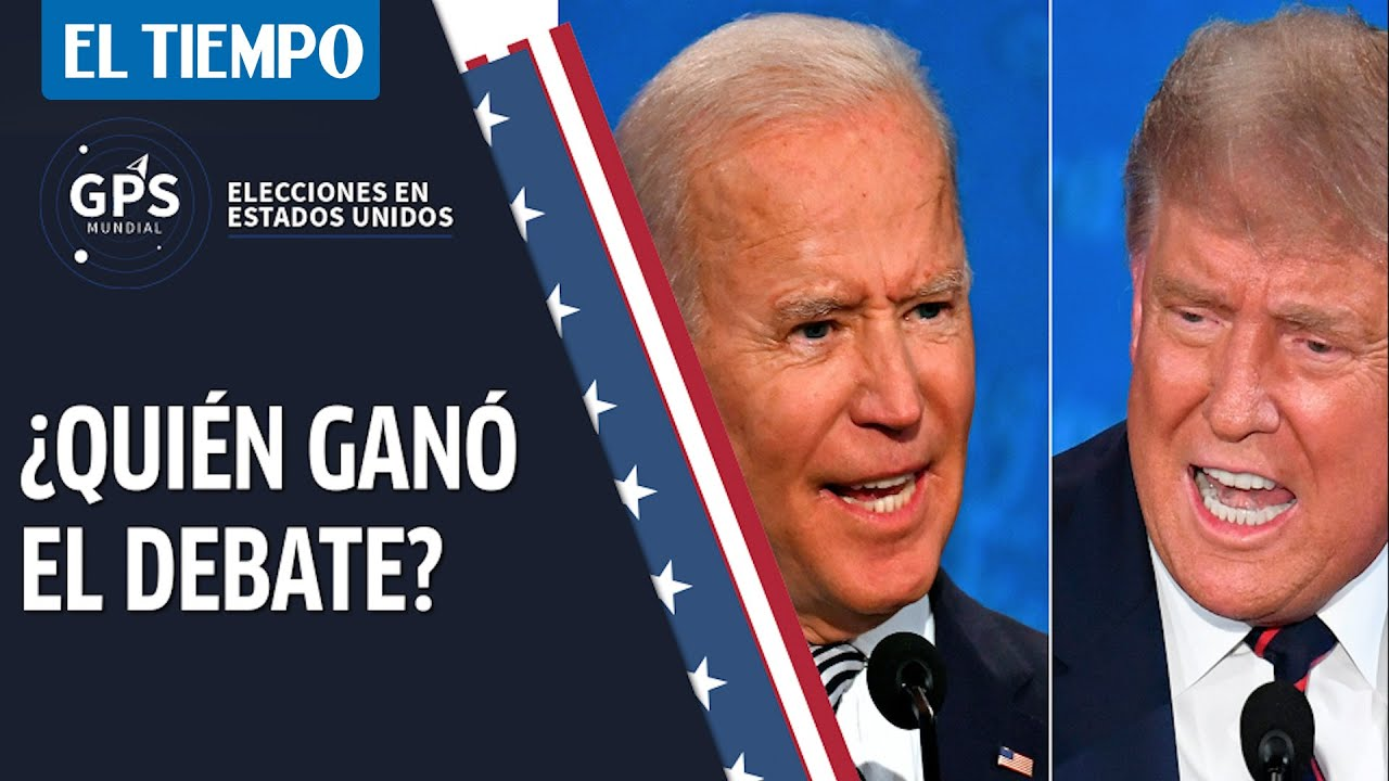 ¿Quién ganó y quién perdió en el debate entre Trump y Biden?