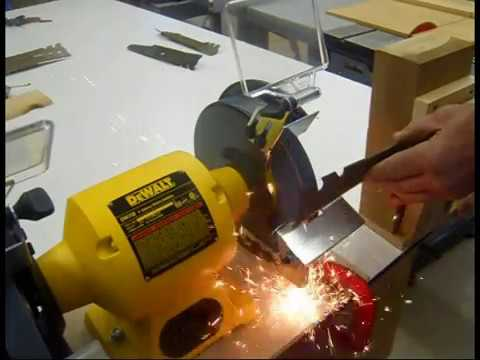 Mower Blade Sharpening Youtube