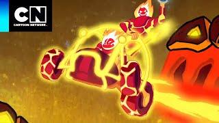 Fuego: Ola de Frío | Ben 10: Mundos Alienígenas | Cartoon Network