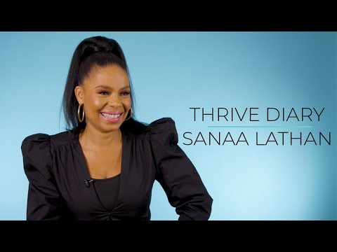 """Thrive Diary: Actress Sanaa Lathan on How She Overcomes Rejection """"Every Day"""""""