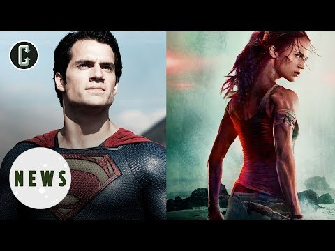 News Hits & Whiffs: Man of Steel 2, Tomb Raider Poster & More - Movie News
