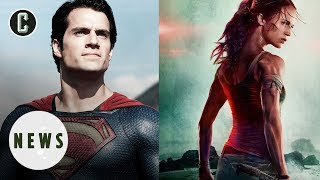 News Hits Whiffs Man of Steel 2, Tomb Raider Poster More - Movie News
