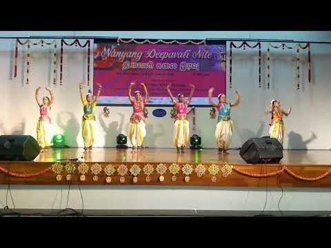 Pushpaarpanam Dance Group - EDM Alarippu - By Nanyang CC Juniors
