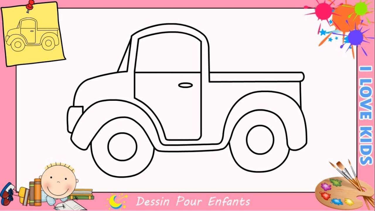 Dessin Camion Facile Kawaii Etape Par Etape Comment Dessiner