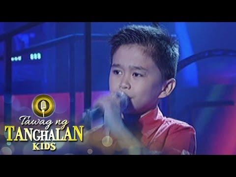 Tawag ng Tanghalan Kids: Mackie Empuerto | Anak Ng Pasig