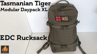 Tasmanian Tiger Modular Daypack XL - Idealer EDC Rucksack   Outdoor Ausrüstung