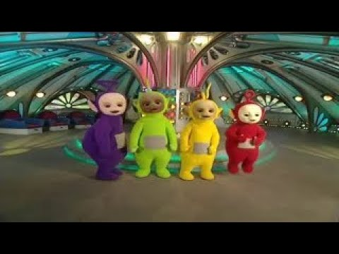 Teletubbies: Paddling By The Sea 2017 HD