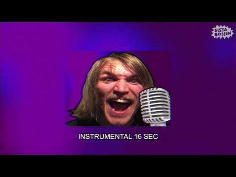 Sista Bossen - Död glöd och massa krut (Karaoke) (Official Music Video)