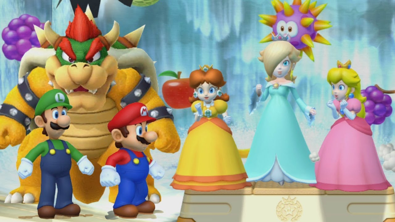 Mario Party 10 All Characters Bowser Party