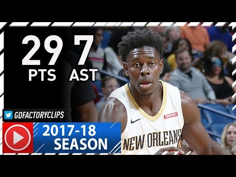 Jrue Holiday Full Highlights vs Cavaliers (2017.10.28) - 29 Pts, 7 Assists