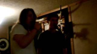 dakota vaughn and me singing karaoke!!!