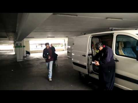 Drone fpv parking la valentine MARSEILLE 03.04.2016