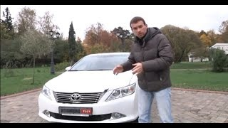 Toyota Camry VII 2.0: большой тест программы