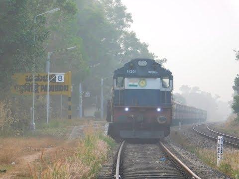 Mangalore To Madgaon : Full Train Journey : Mangalore - Madgaon Passenger : Konkan Railways