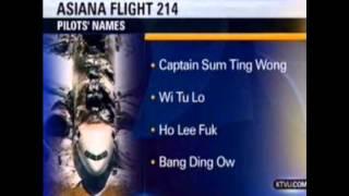 Opie & Anthony: Asiana Pilot Names