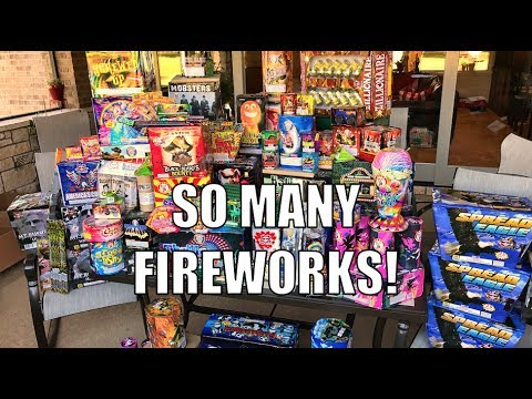 BIGGEST FIREWORKS SHOW EVER!- 2017