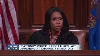 """Paternity Court"" Judge Lauren Lake appearing at Channel 7 Family Day."