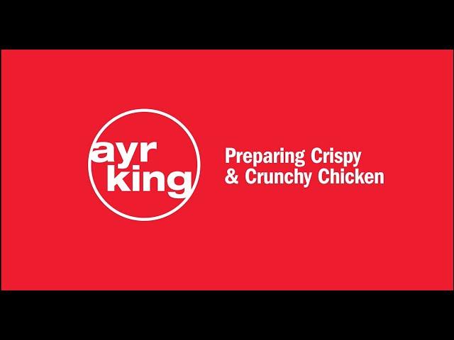 FRIED CHICKEN: Crispy & Crunchy