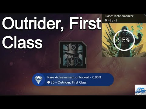 Outriders: Outrider, First Class achievement guide