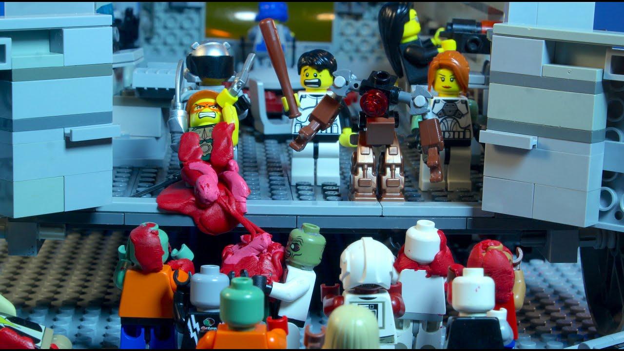 The LEGO Zombie Apocalypse Episode 4: The Deathwagon | Doovi